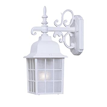 Acclaim 5302TW Nautica Collection 1 Light Wall Mount Outdoor Light Fixture,  Textured White