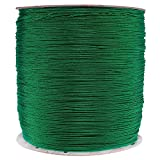 PARACORD PLANET 1.8 MM Dyneema Speed Lace - 10 Feet - Dark Green Color - Unbreakable and Lightweight Fiber
