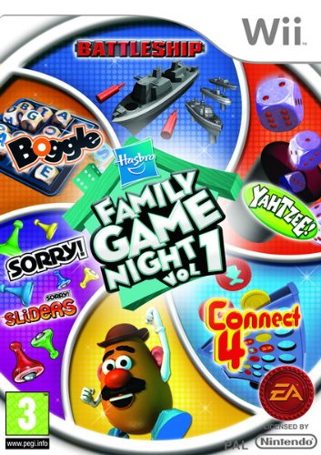 Hasbro Family Game Night Wii Importacion Inglesa Amazon Es