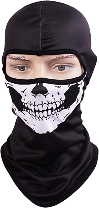 07 Tiger Motorcycle Helmets Liner Ski Gear Neck Gaiter Animal Print Series Quick-Dry Mask Kingree Balaclava Ski Mask