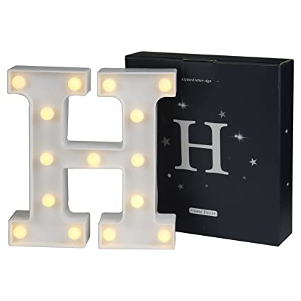 amazon com delicore led marquee letter lights alphabet light up