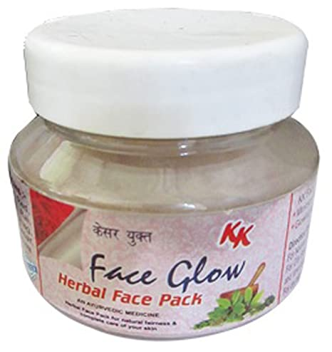 KK Face Glow Herbal Face Pack (Pack of 1): Amazon in: Beauty