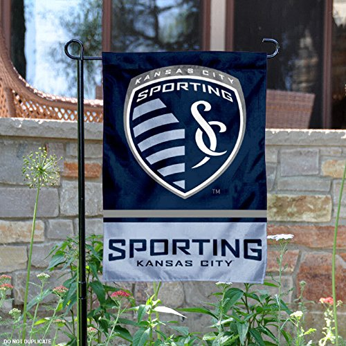 WinCraft Sporting Kansas City Double Sided Garden Flag by WinCraft