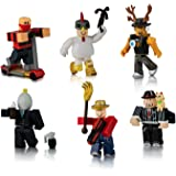 Knight Pack Roblox Amazon Com Roblox Action Collection Days Of Knight Four Figure Pack Includes Exclusive Virtual Item Toys Games