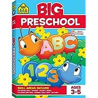 School Zone Big Preschool Workbook Paperback Deals