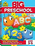 School Zone - Big Preschool Workbook - Ages 3-5, Colors, Shapes, Numbers 1-10, Alphabet, Pre-Writing, Pre-Reading, and Phonics (Big Get Ready Workbook) (School Zone Big Workbook Series)