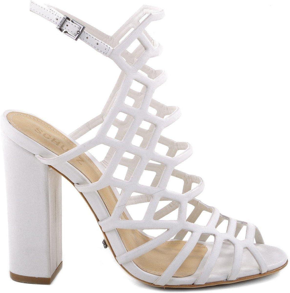SCHUTZ Women's Jaden Dress Sandal Pearl