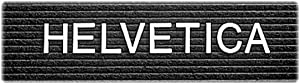 Quartet 0.5 Inch Characters for Plastic Letter Boards, Helvetica Font, 144 Characters per Set, White (F1/2)