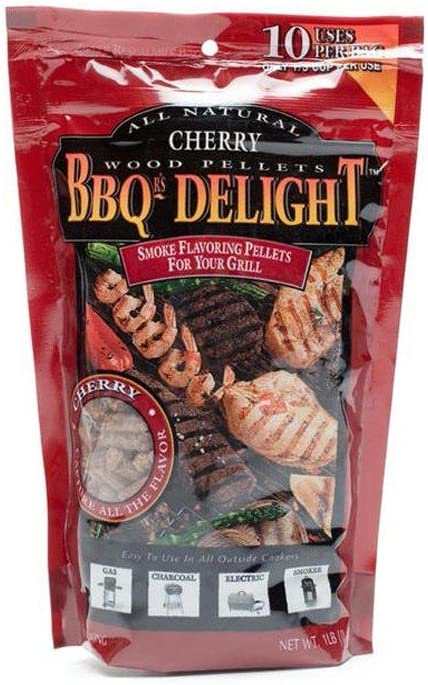 BBQ'rs Delight Cherry Wood Pellets 1lb Bag
