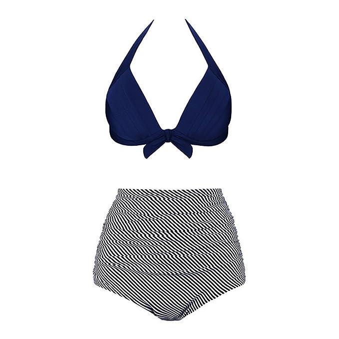 iYmitz Damen Bikinis, Sommer Frauen Mode Hohe Taille