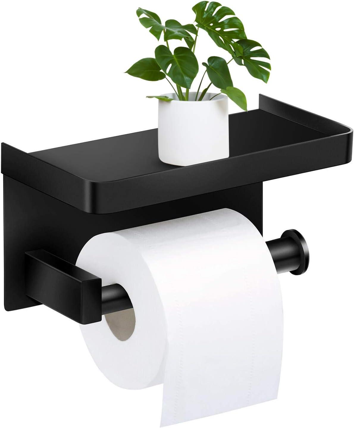 JUEJIDP Portarotolo in acciaio inox 304 porta carta igienica porta carta igienica vassoio carta igienica porta carta igienica Portasciugamani