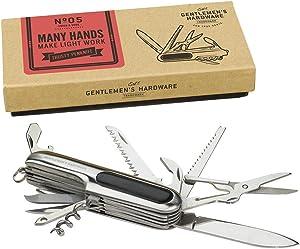 No. 05 - Many Hands Make Light Work Trusty Penknife by Gentleman's Hardware