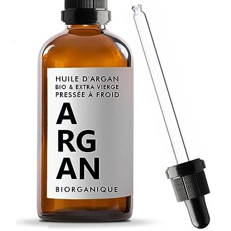 Biorganique - Aceite de argán 100% ecológico, puro y natural, 100 ml,
