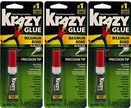 Elmers Advanced Formula Krazy Glue (Krazy Glue Advanced Gel)