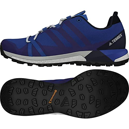 buy online 9ee44 c9239 adidas Men s Terrex Agravic Trail Running Shoes, Blue Conavy Blubea Gretwo  ...