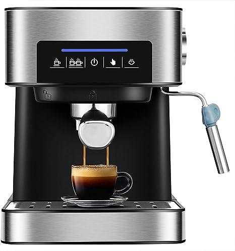 ZHAN Cafetera, Cafetera Espresso 20 Bar De Alta Presión A Vapor Semi Automática Máquina De Café De La Leche De La Burbuja De Cafeteras: Amazon.es: Deportes y aire libre