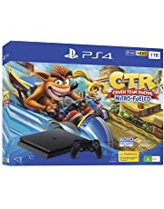 PlayStation 4 Console 1TB Slim Crash Team Racing Bundle