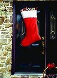"""Super 34"""" Jumbo Christmas Stocking Decoration"""