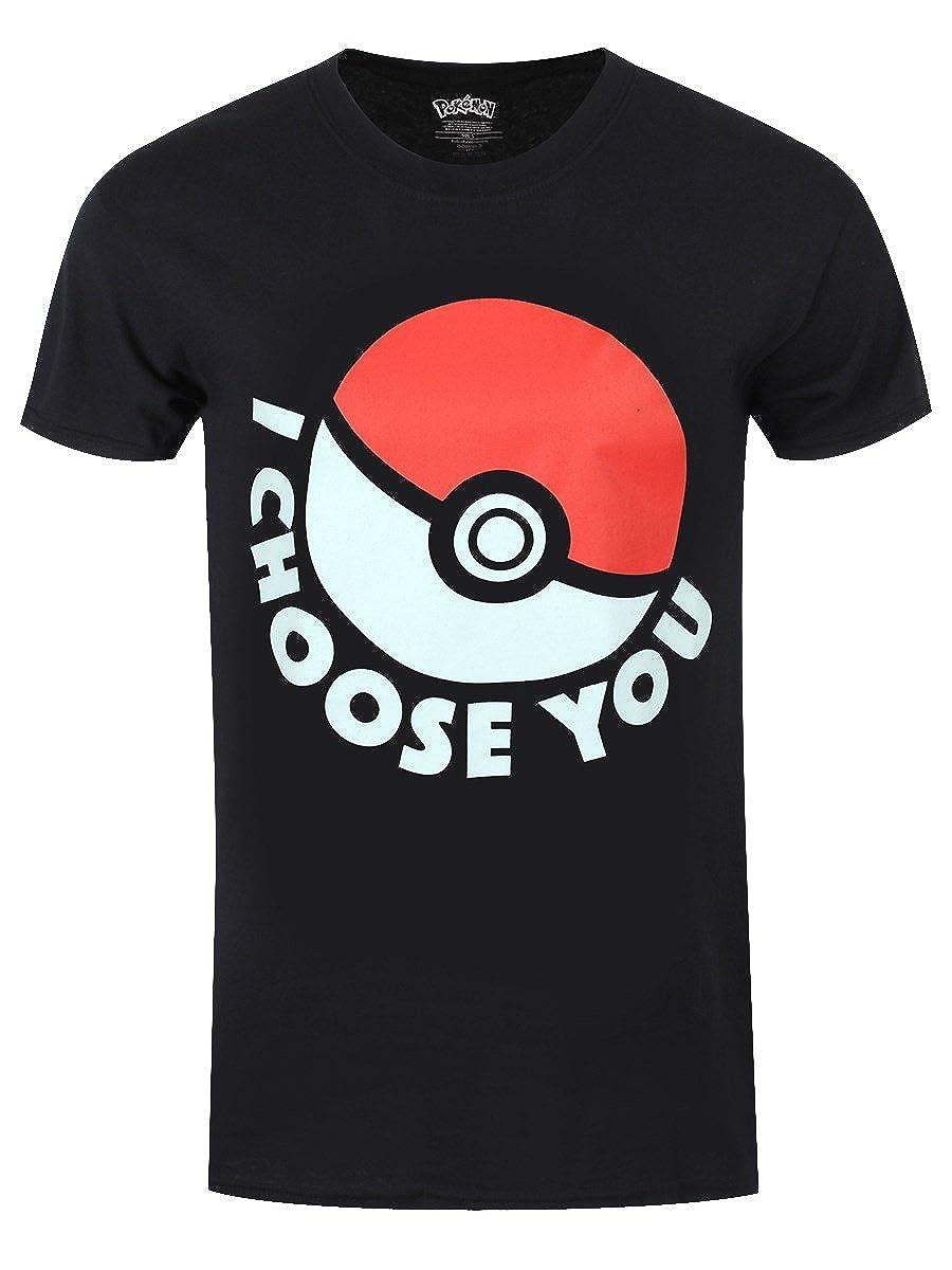 Meroncourt Pokemon I Choose You, Camiseta para Hombre: Amazon.es: Ropa y accesorios