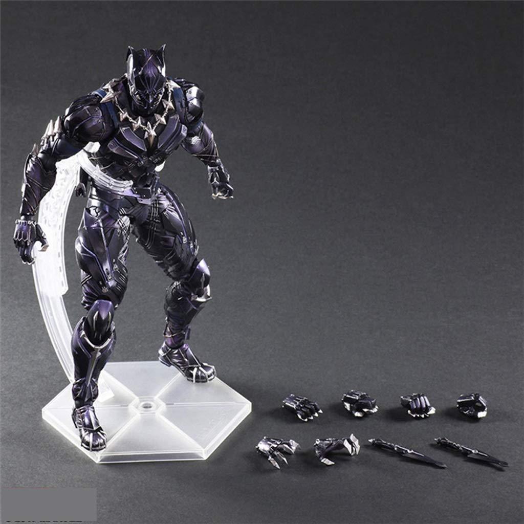 HRSGJK Jouet Modèle Iron Man voitureactère Cadeau Artisanat Collection Décoration Bureau Artisanat 27cm