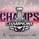 Washington Capitals 2018 Stanley Cup Champions Crystal Puck - Filled with Ice From the 2018 Stanley Cup Final - Fanatics Authentic Certified