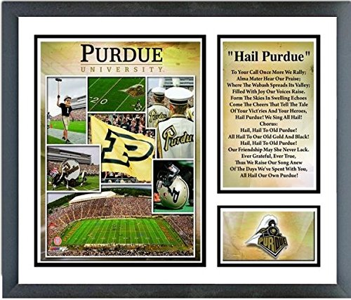 Purdue Boilermakers Framed (Purdue Boilermakers Photo Collage (Size: 12.5