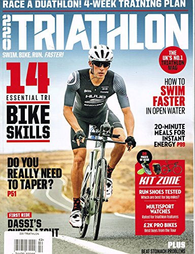 220 Triathlon Issue 342 September Magazine 2017 - Stores Uk Triathlon