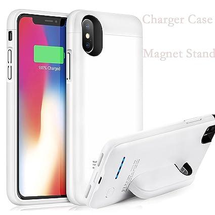 Amazon.com: iPhone X carcasa de batería, 4000 mAh paquete de ...