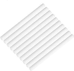 MOVTIP Humidifier Cotton Sticks, Cotton Filter Sticks for Humidifiers Refill Sticks Filter Replacement Wicks for Portable Personal USB Mini Humidifier 8 x 100mm (10pcs)