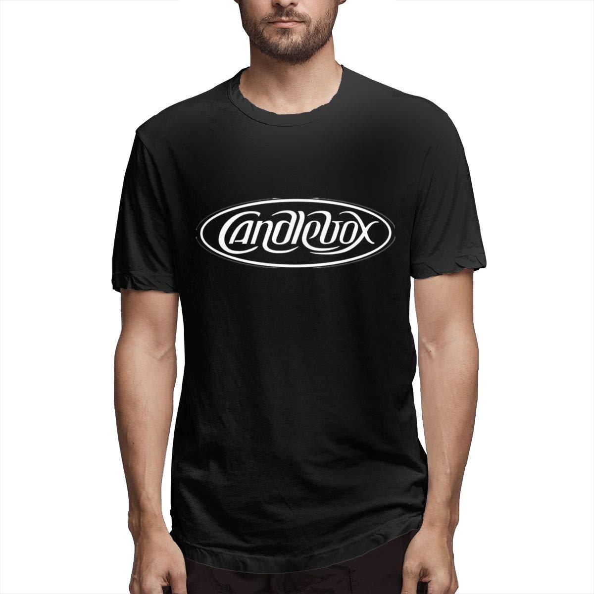 Lihehen Mans Candlebox Logo Retro Printing Round Neck Ts Shirts