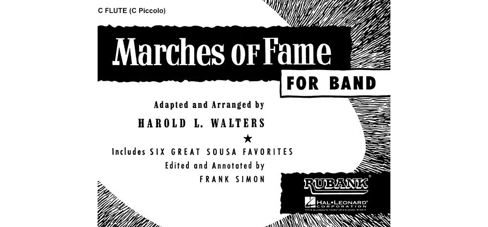 Read Online Rubank Publications Marches of Fame for Band (1st F Horn (or 1st & 2nd)) Concert Band Composed by Various pdf epub