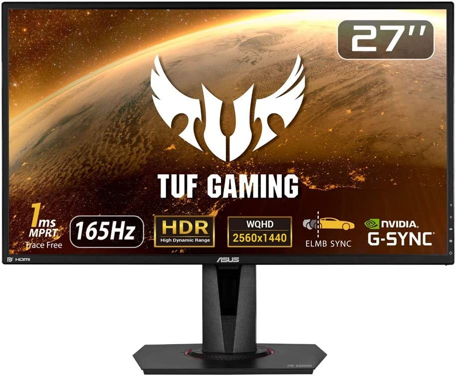 ASUS TUF Gaming ゲーミングモニターVG27AQ 27インチ