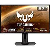 TUF Gaming VG27AQ HDR Gaming Monitor – 27 inch WQHD (2560x1440), IPS, 165Hz (Above 144Hz), Extreme Low Motion Blur Sync…