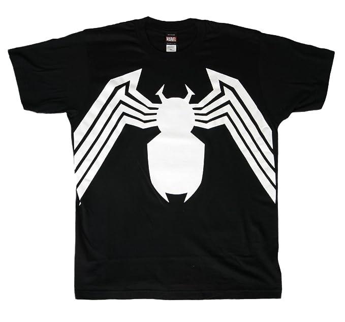 Mad Engine - Camiseta Marvel Comics Venom de los Hombres - Negro - -: Amazon.es: Ropa y accesorios