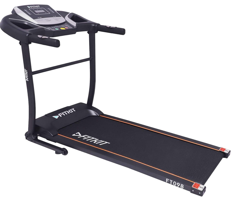 Fitkit FT098 1.5 HP (2 HP Peak) Motorized Treadmill (Free