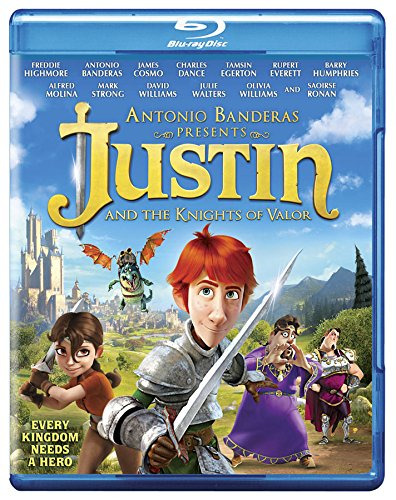 Justin & The Knights of Valour [Blu-ray]