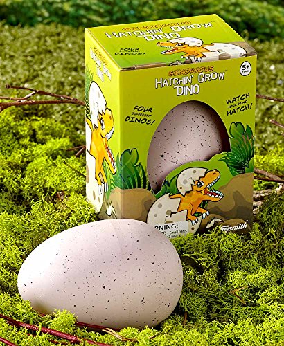 Set of 2 Ginormous Hatchin' Grow Dino Eggs -