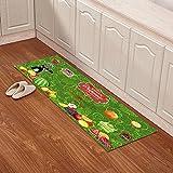 Indoor mats Kitchen floor mats Bathroom non-slip mats Toilet bathroom mats-E 63x91inch(160x230cm)