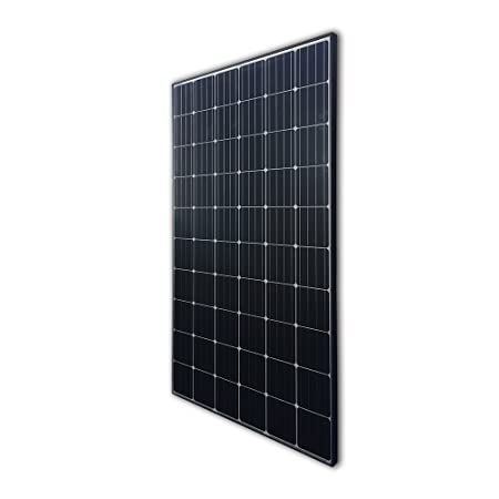 side facing Renogy 300 Watt 24 Volt Monocrystalline Solar Panel