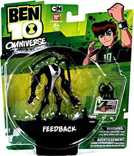 Ben 10 Omniverse Feedback Action Figure, 3 inches