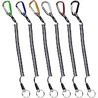 VIMOV Cuerda de Pesca (6 Pack), Alambre de Cuerda de Seguridad Multicolores de