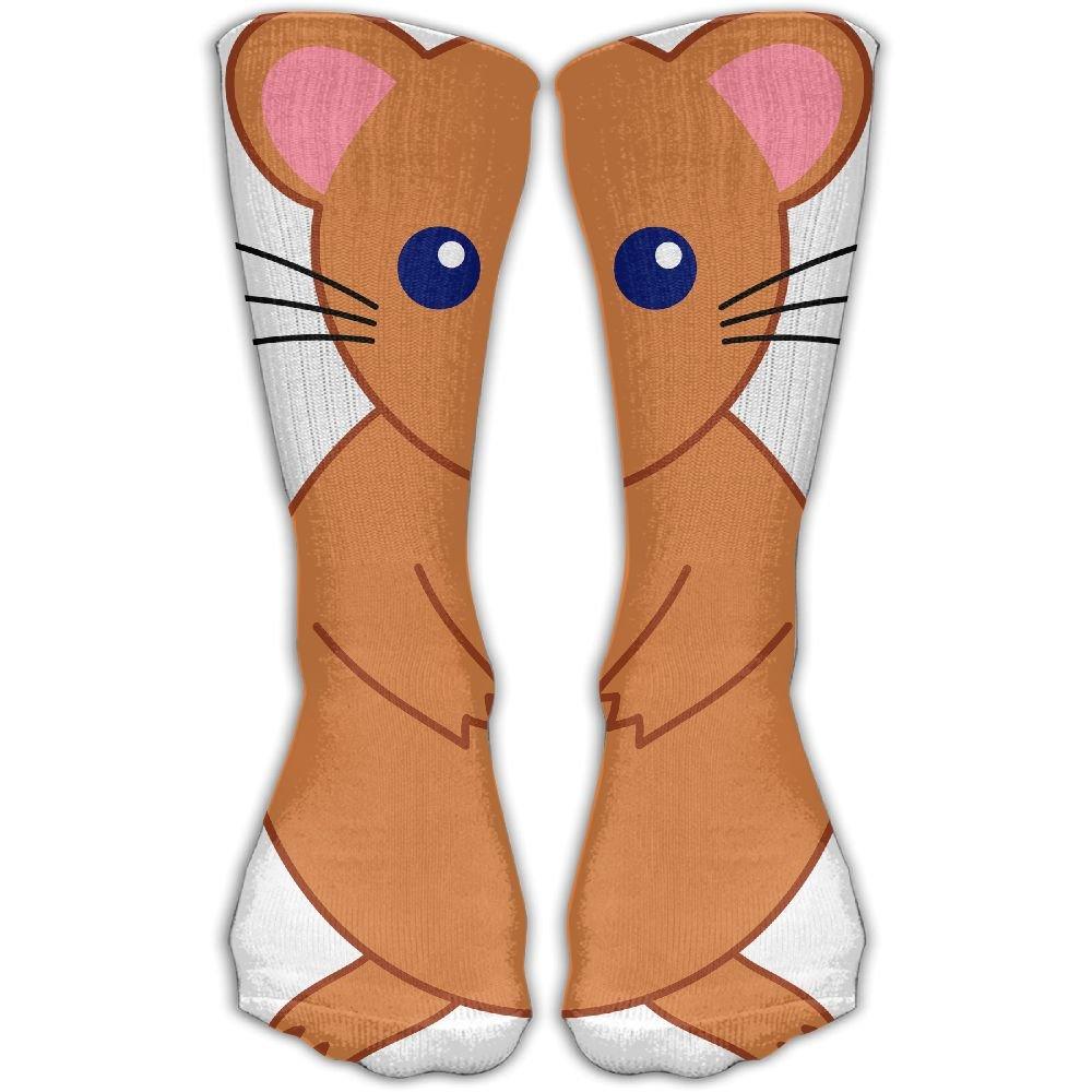 Men Hamster Women & Men Socks Knee High Long Soccer Sport Tube Stockings Length 30cm