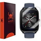 Asus Zenwatch 2 49mm Screen Protector, Skinomi TechSkin (6-Pack) Full Coverage Screen Protector for Asus Zenwatch 2 49mm Clear HD Anti-Bubble Film