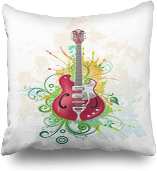 LOLYeah Fundas de Almohada para Guitarra Eléctrica en la Grunge ...