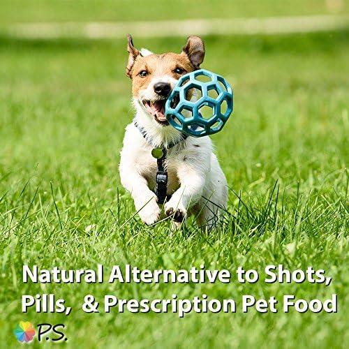 PS para perros 100% hipoalergénico comida para perro–No más lamerse y rascarse la piel–resuelve las alergias naturalmente–No más tragos perjudiciales, pastillas y caros alimentos recetados 7