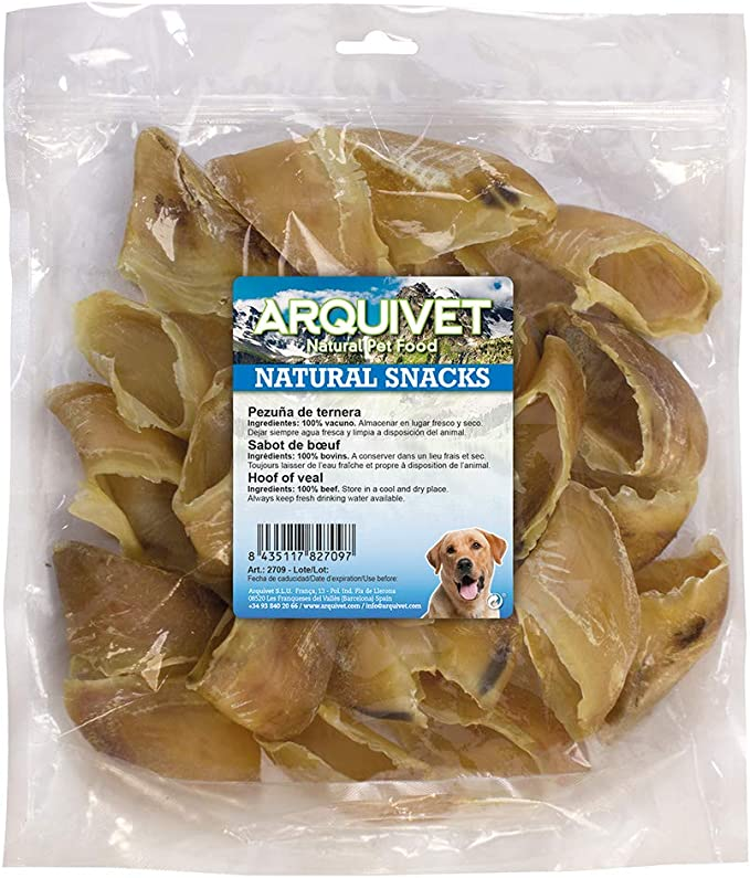 Arquivet Pezuña de ternera natural - Snacks naturales perro