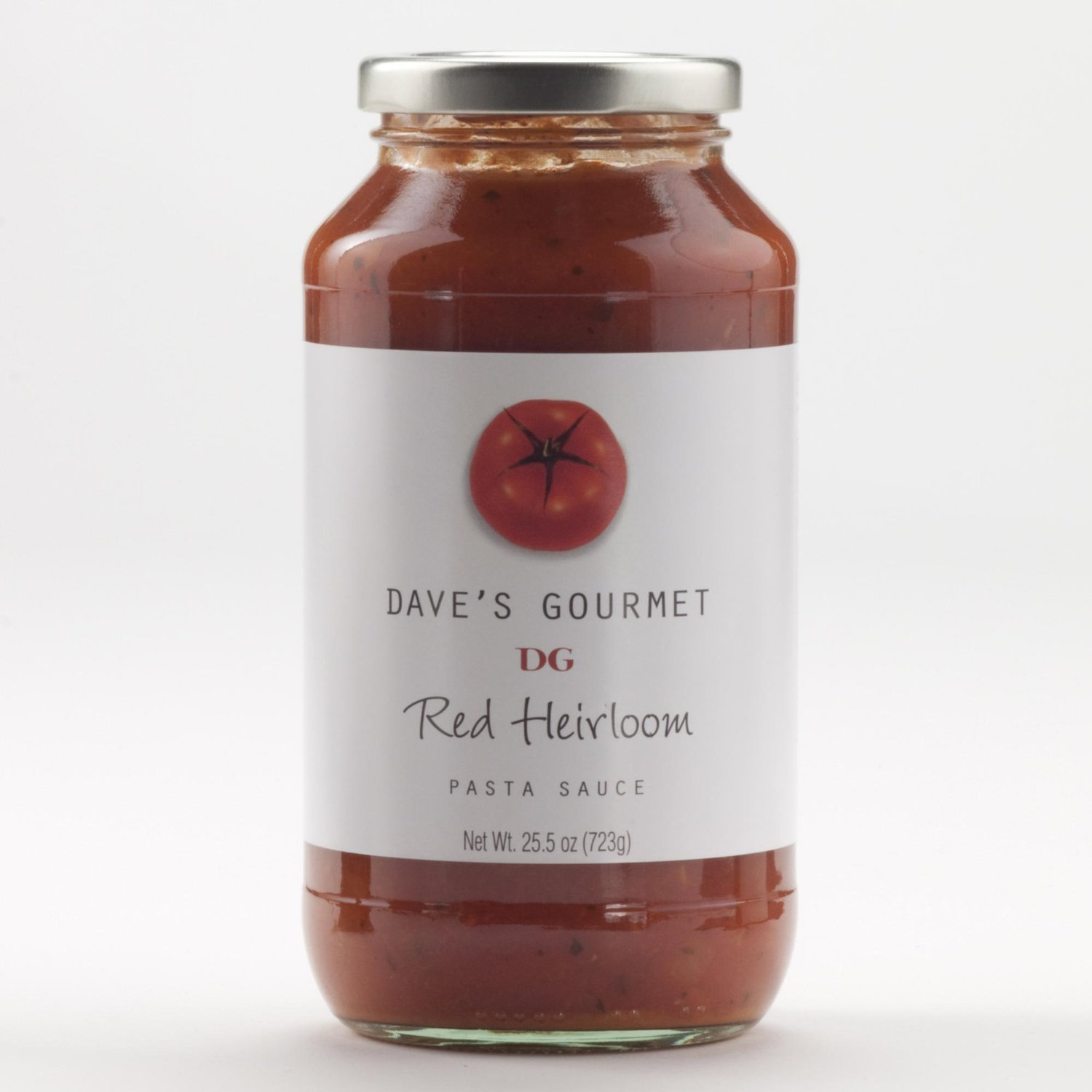 Daves Gourmet Sauce Psta Red Heirloom Org