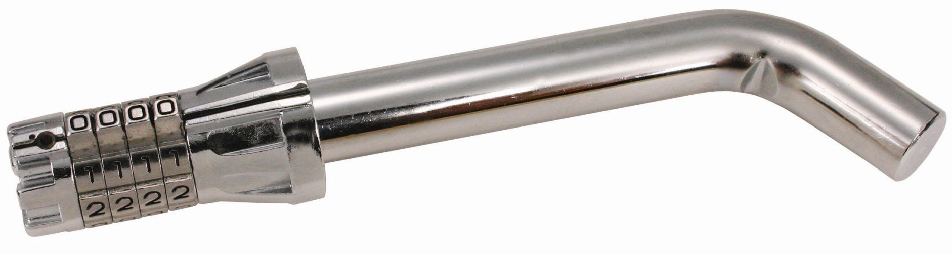 Trimax MAG200 Resettable Combination Bent Pin 5/8'' Receiver Lock by Trimax