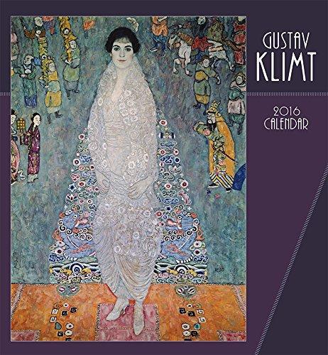 Gustav Klimt 2016 Wall Calendar