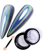 TOMICCA Acrylic Powder Nail Dipping Powder Holographic Effect
